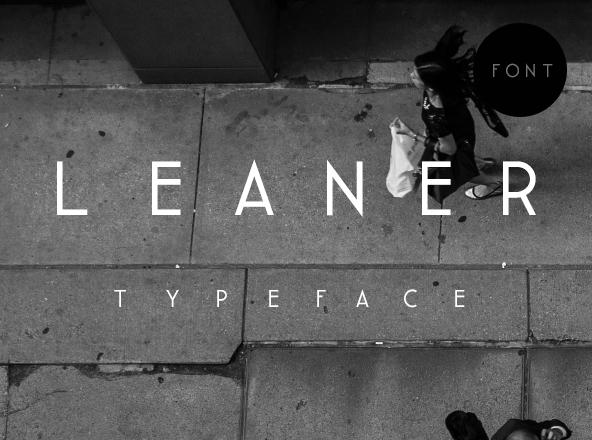 Leaner Font