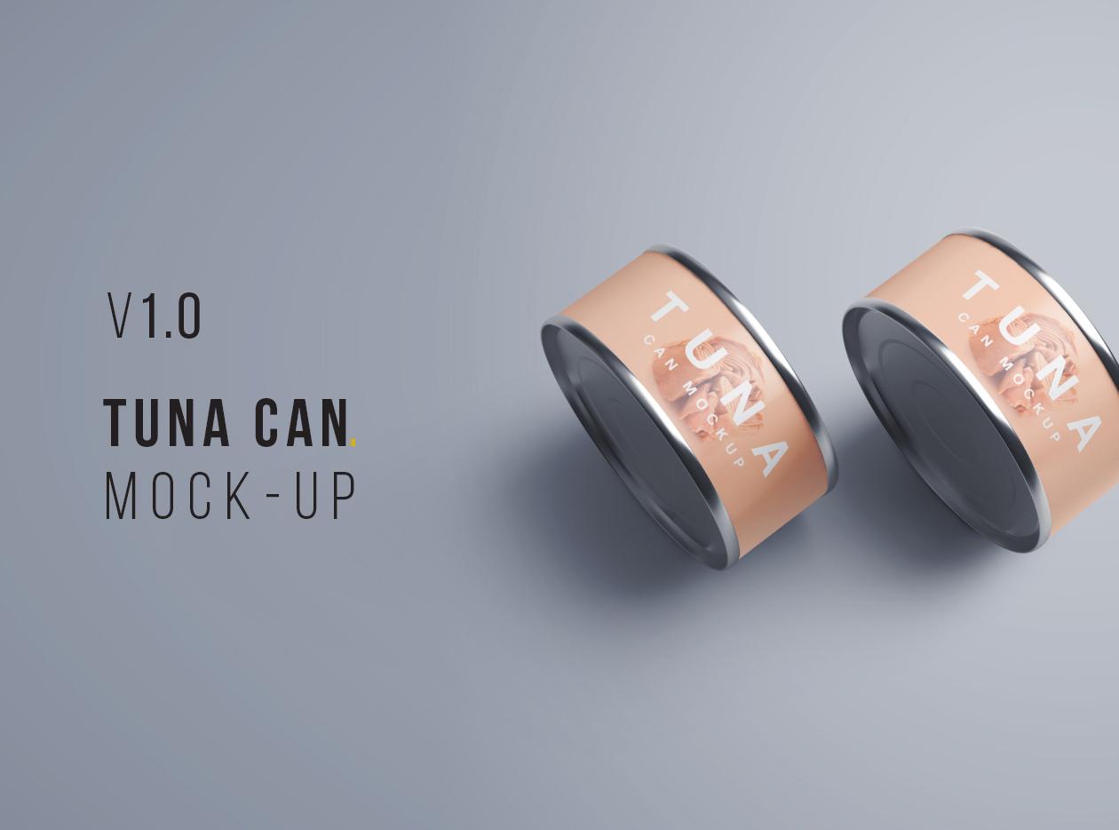 Tuna Can Mockup