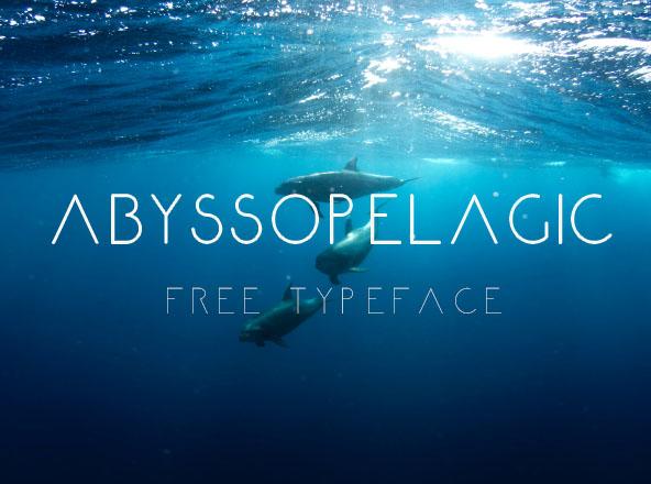 Abyssopelagic Font