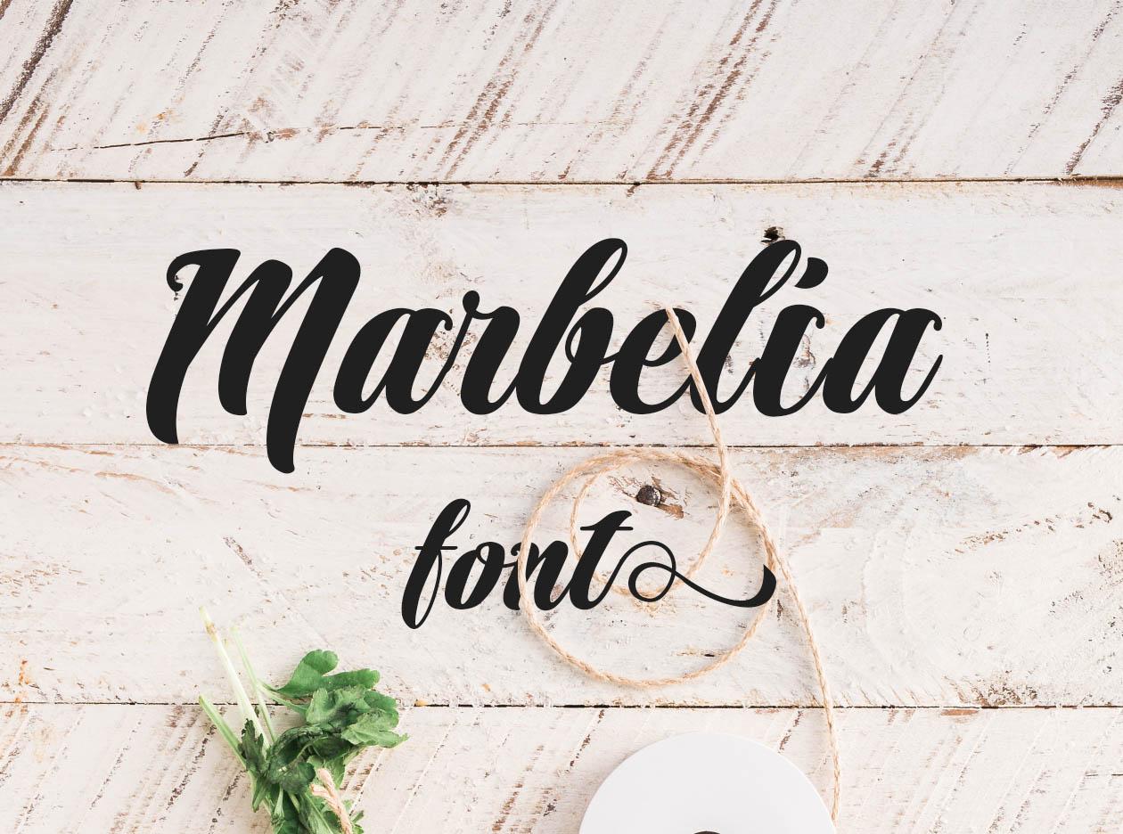 Marbelia Font