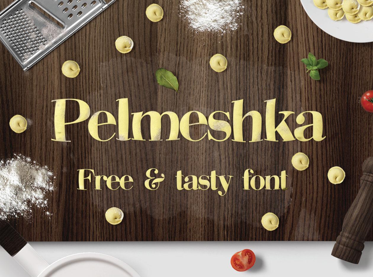 Pelmeshka Font