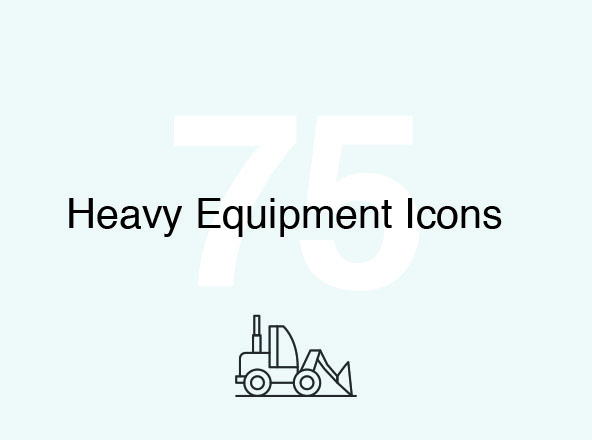 Heavy Equipment Icons
