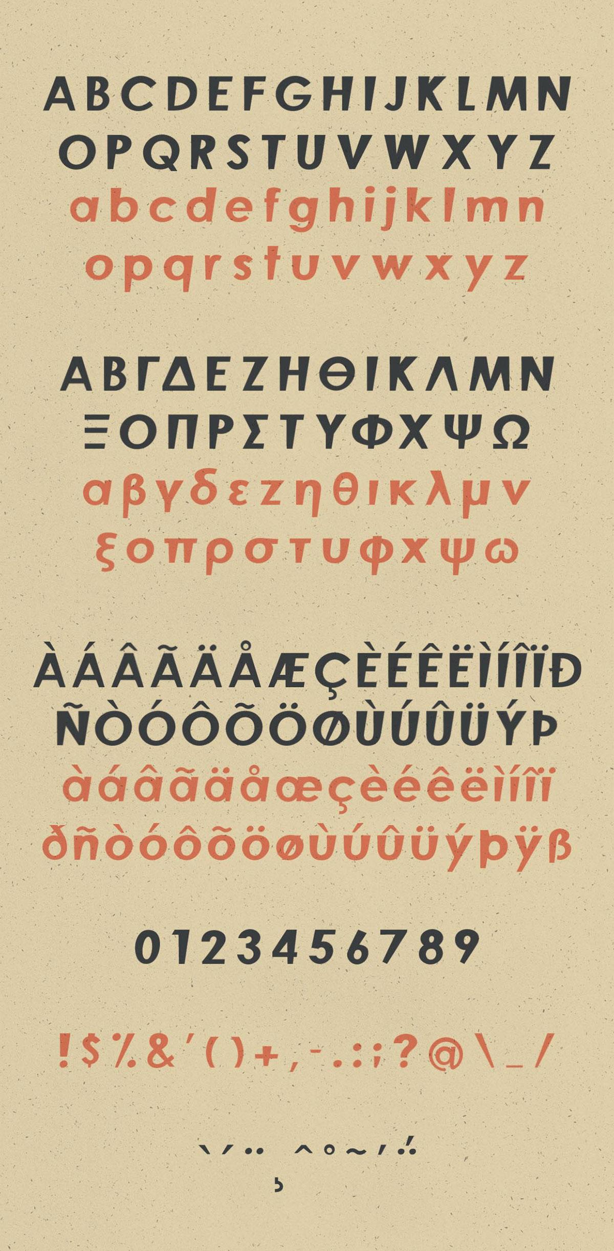 Finos Typeface