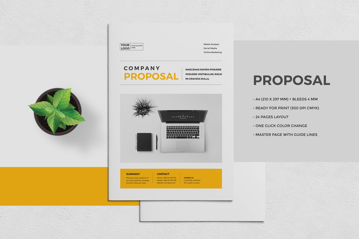 professional proposal templates