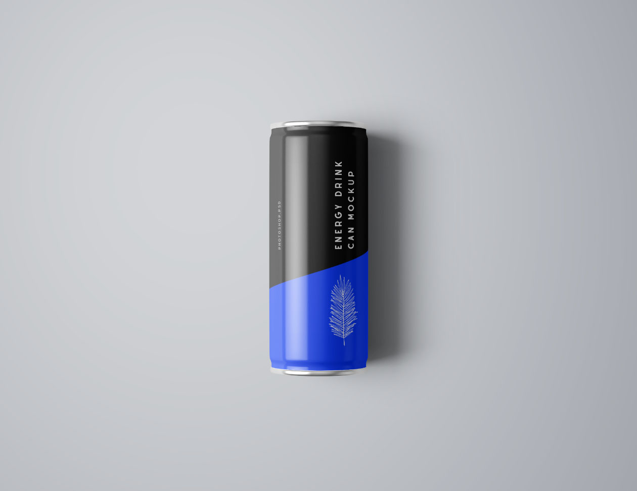Top Energy Drink Mockup
