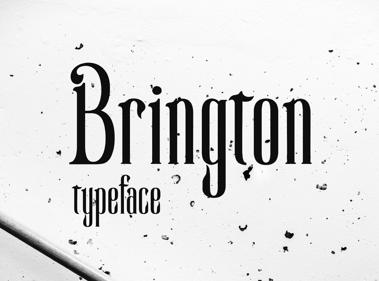 New Brington Typeface
