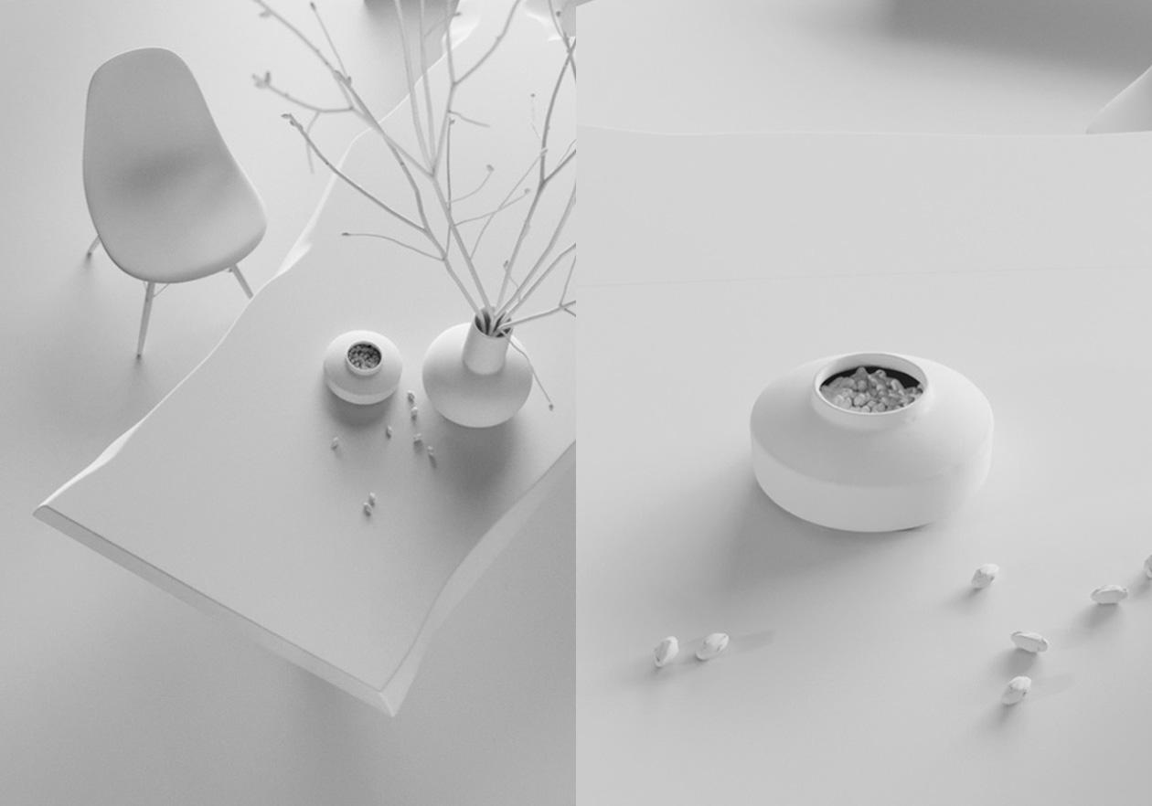 Vase & Table Model