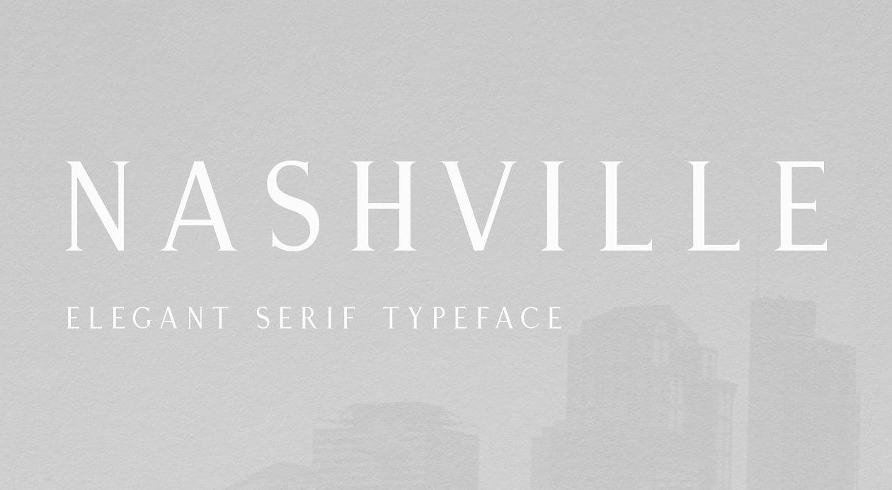 Nashville Font