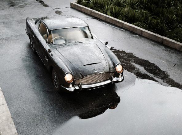 Wet asphalt with puddles 3d scence