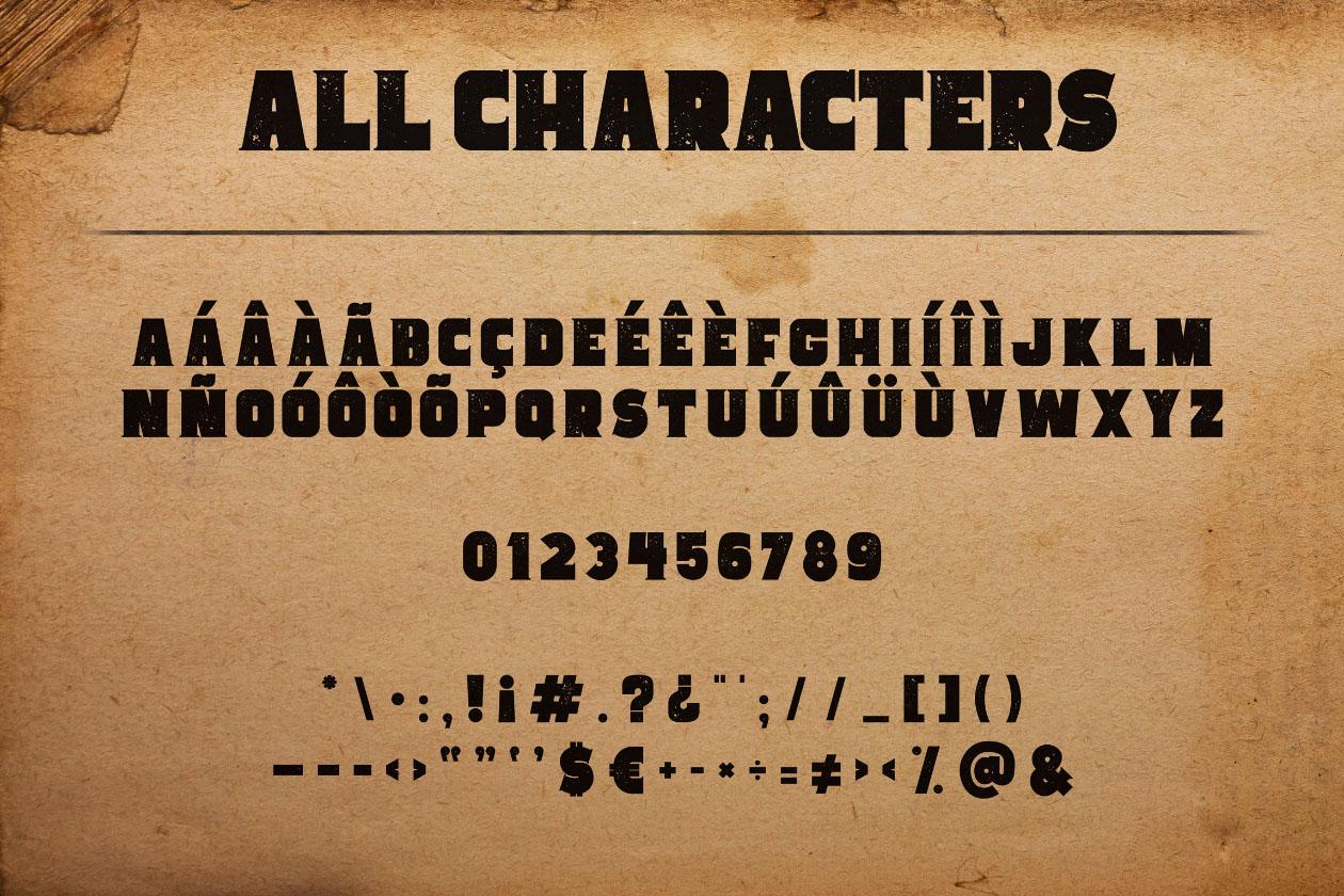 space cowboy typeface