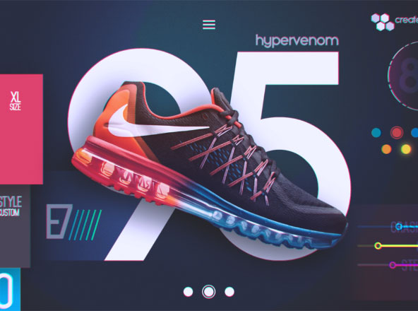 Nike Futuristic UI Concept Download
