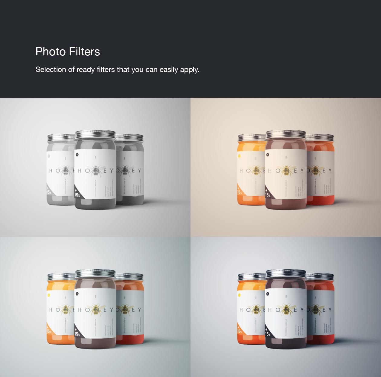 Jar Mockup Effects