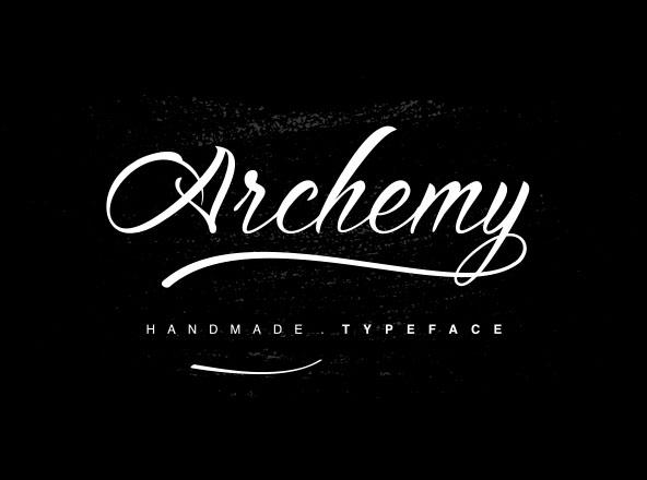 Archemy Typeface