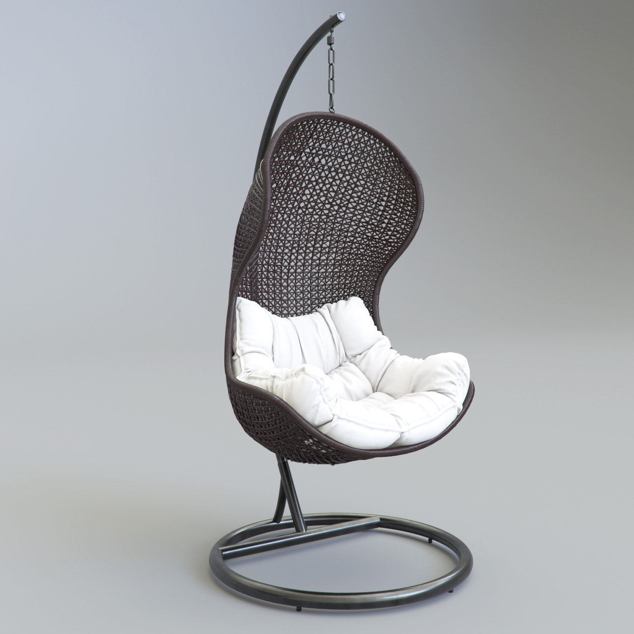 Parlay Chair 3D Model perspective