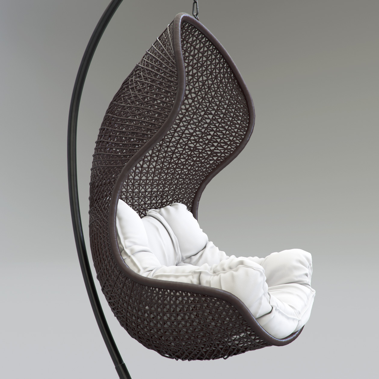 Parlay Chair 3D Model side