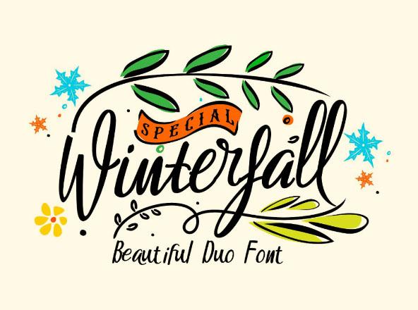 Winterfall Due Font