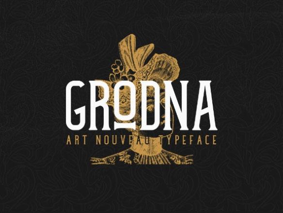 Grodona Typeface