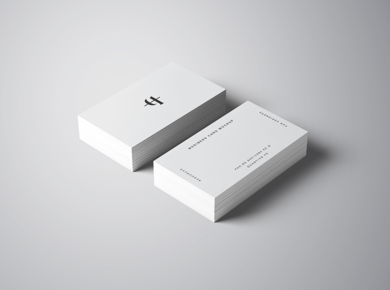 Business cards mockup colourmoves