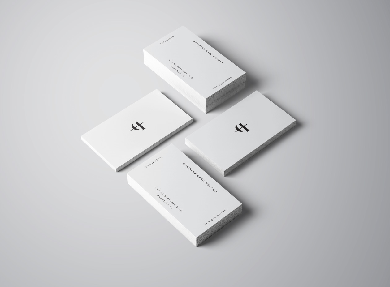 Cosmetics shop business card