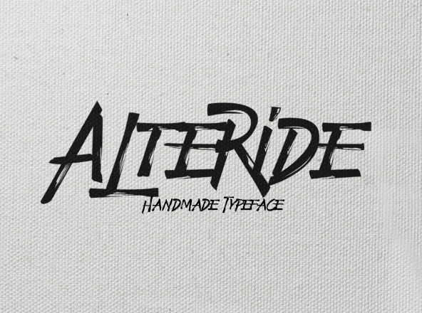 Alteride Typeface