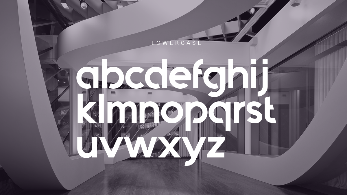 Quantify Font Lower Case