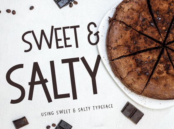 Sweet & Salty Font