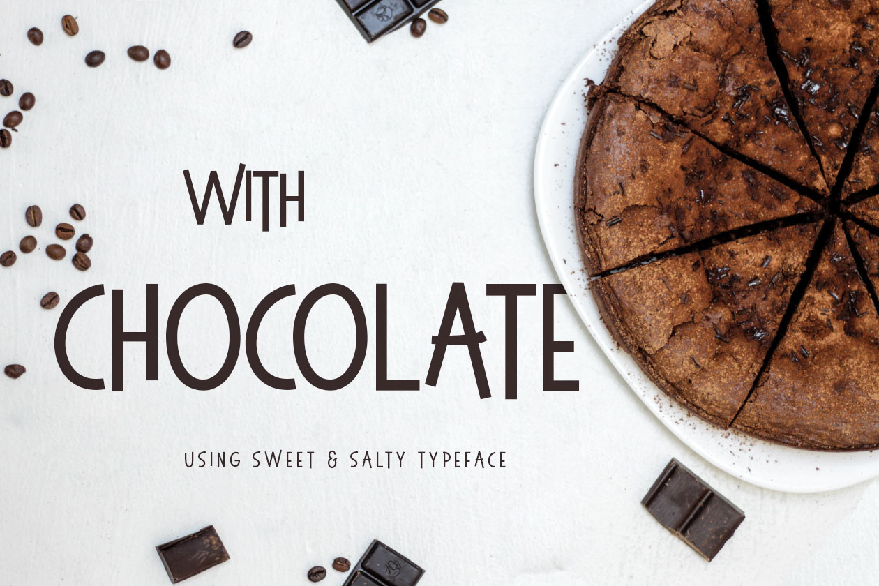 Sweet & Salty Typeface