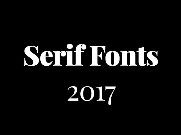 10  best serif fonts to use in 2017