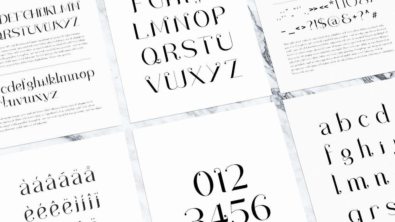 Drops Font