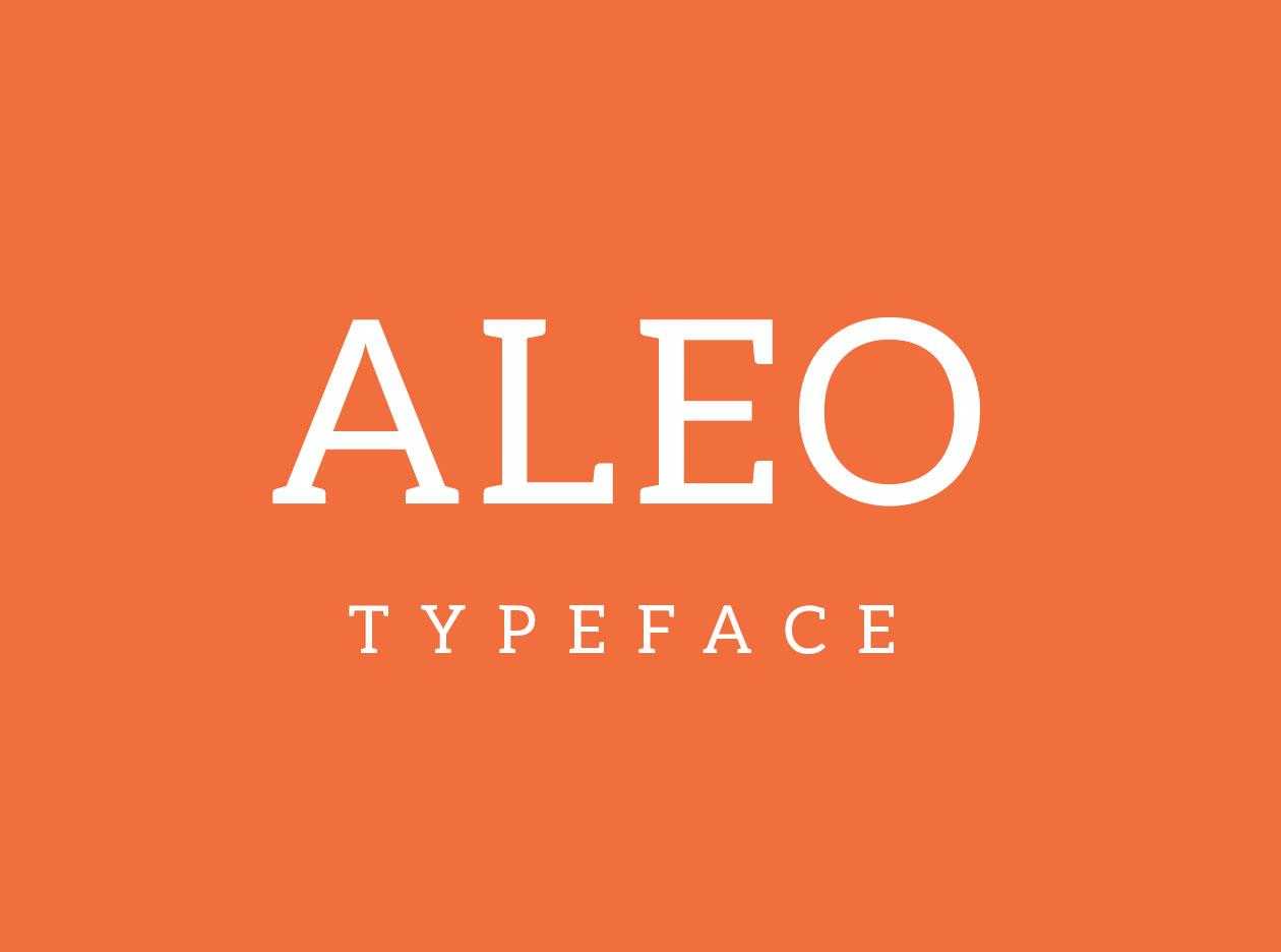 Aleo Typeface
