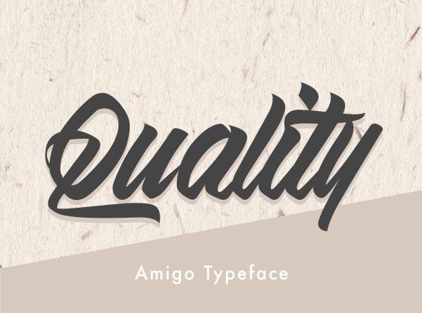 Amigo Script Font