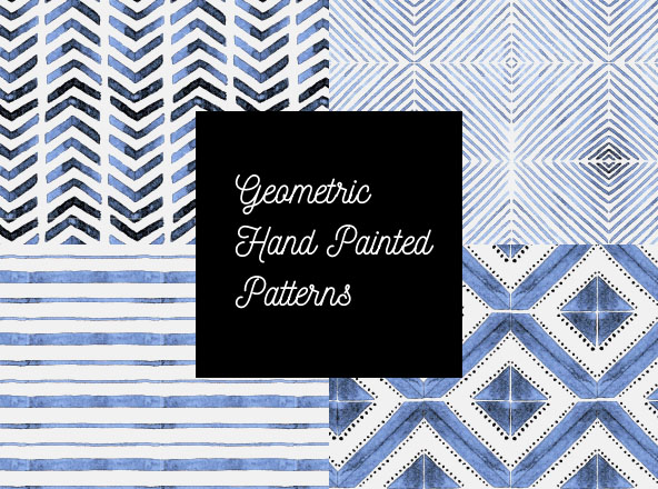 Geometric Hand Painted Patterns