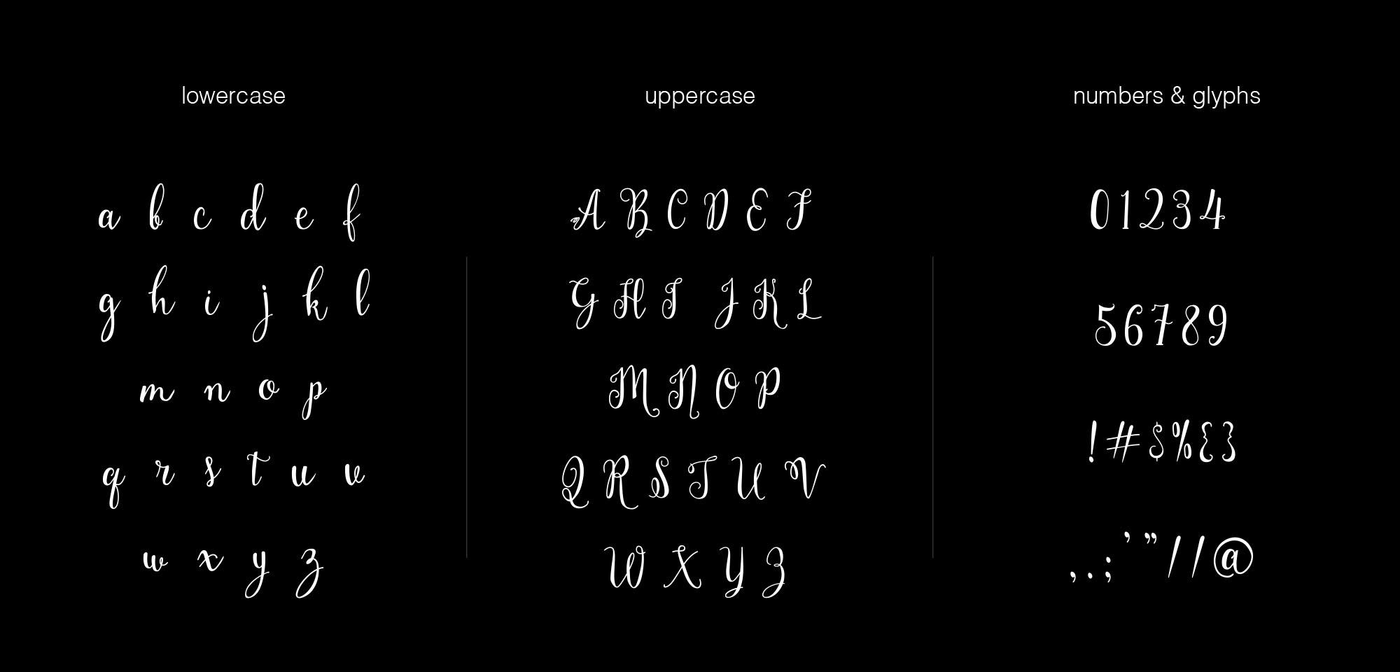 Holland Script Typeface
