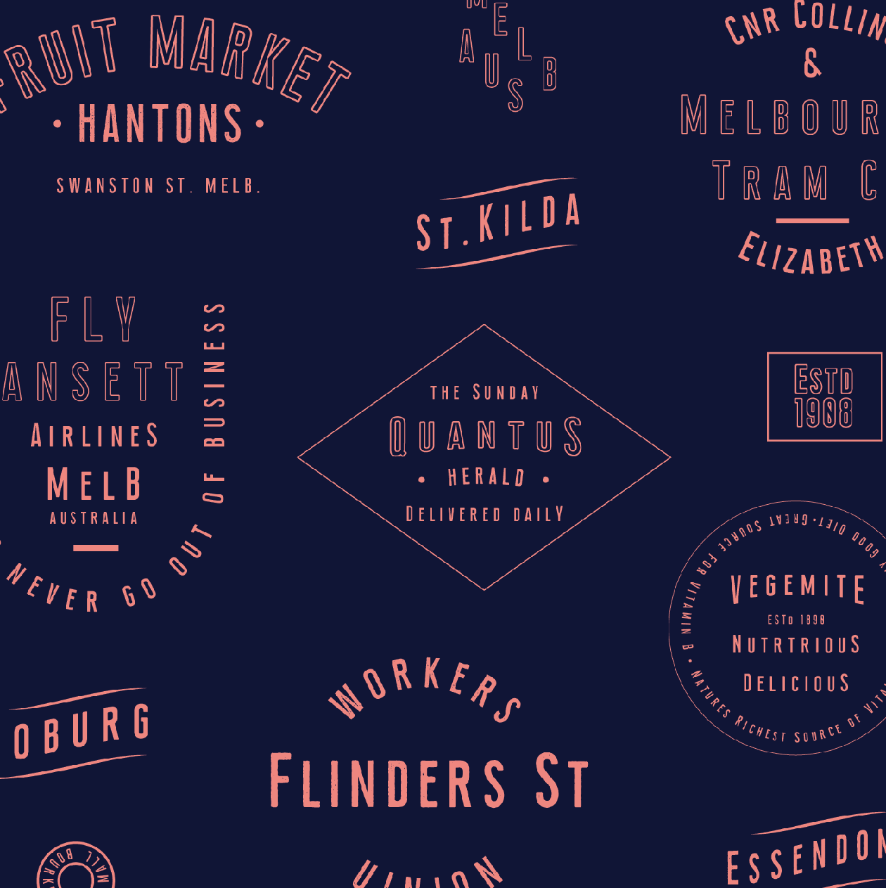 Union Condensed Font Free Badges