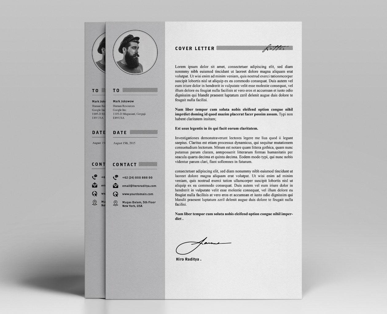Resume & Portfolio Template - YA