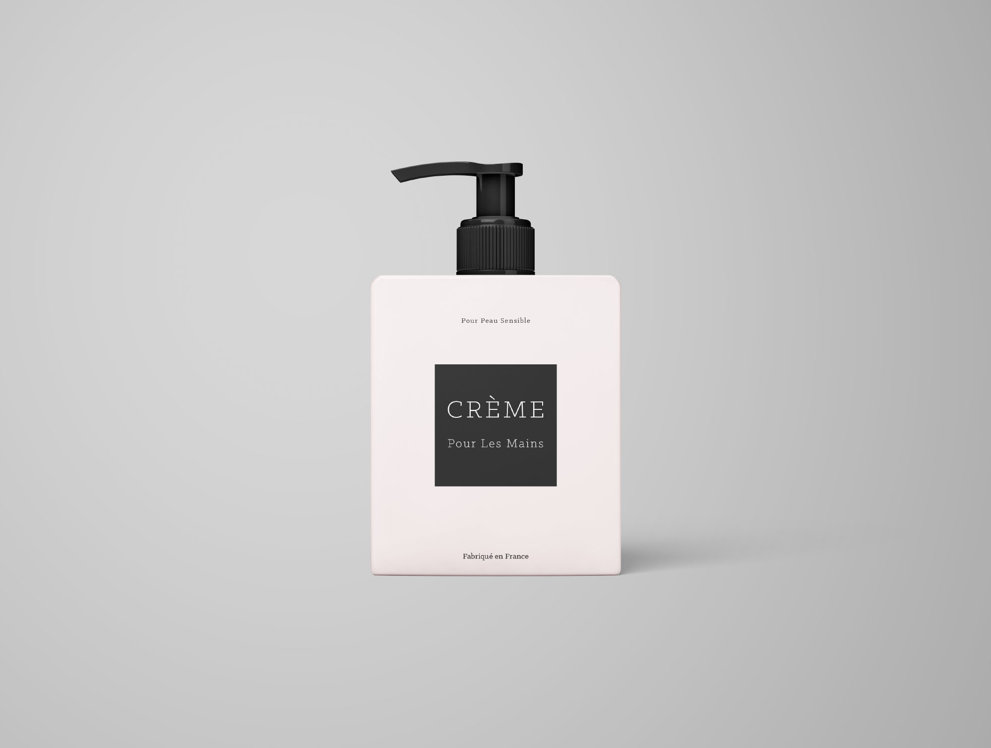 Cream Bottle Mockup