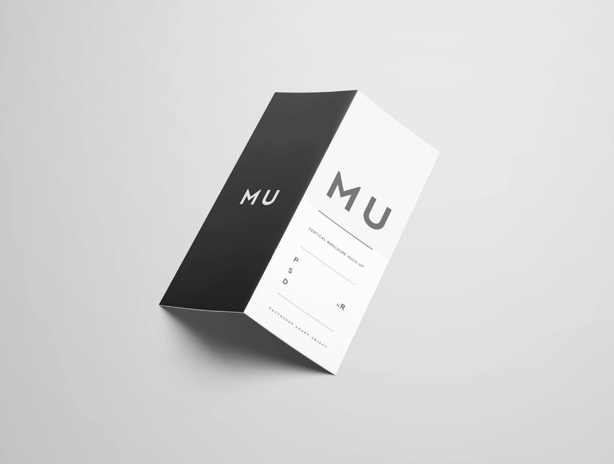 Vertical Brochure Mockup