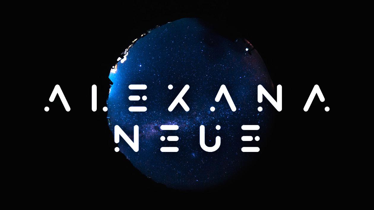 Alexana Typeface