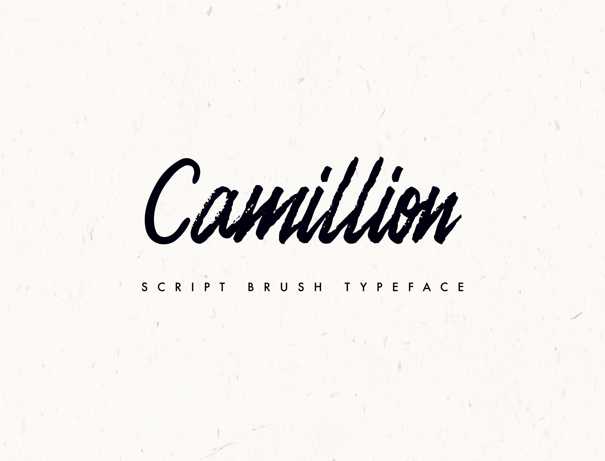 Camellion Script Typeface