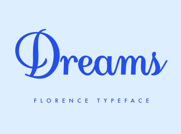 Florence Script Font