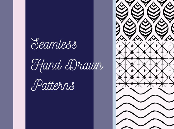 Seamless Hand Drawn Patterns