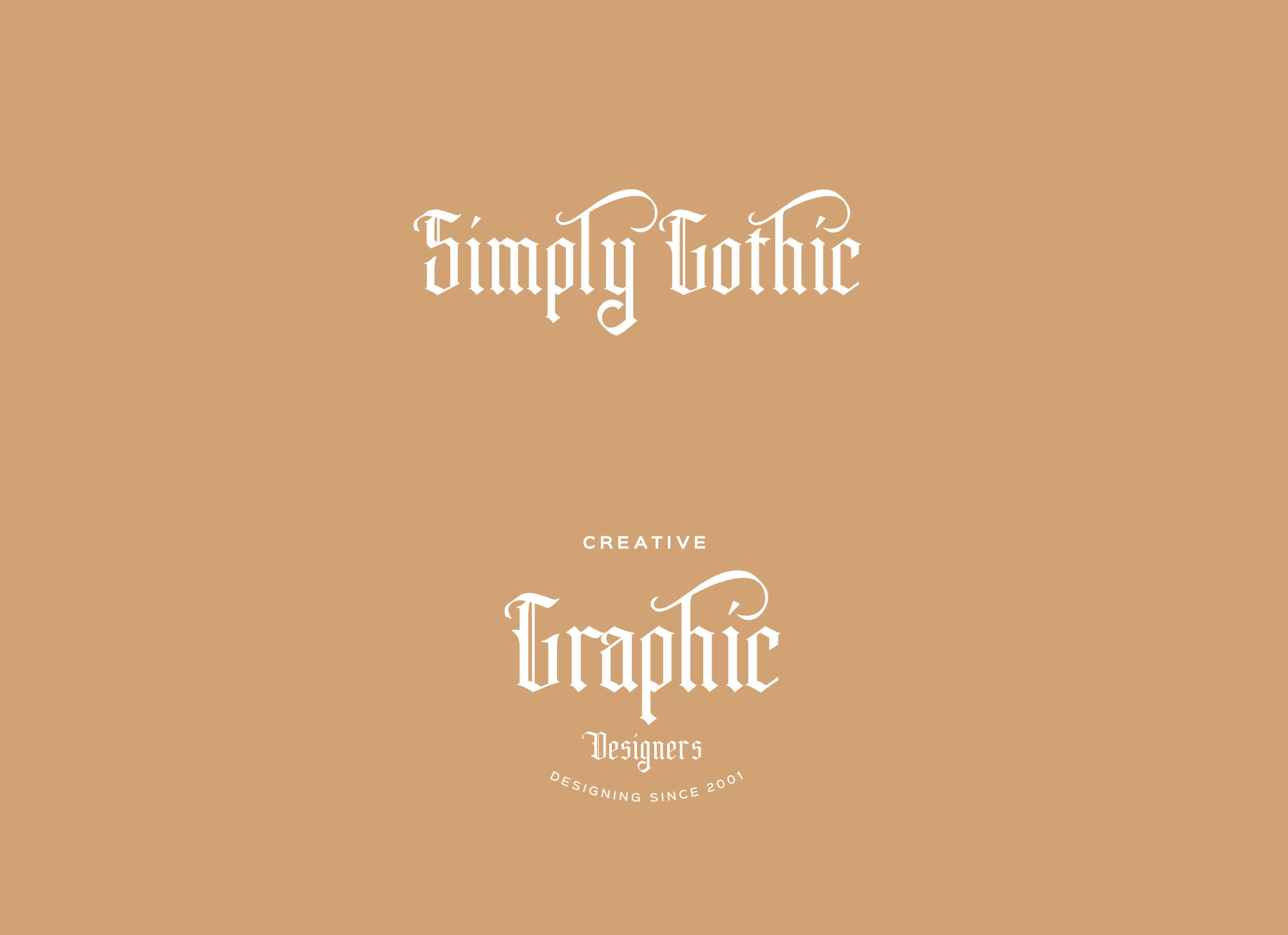 Simply Gothic Font