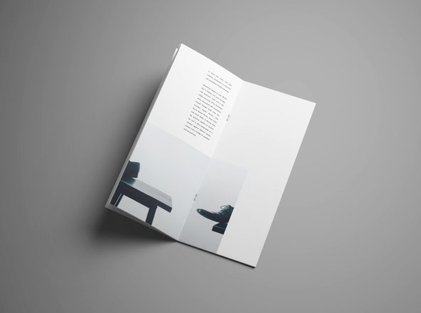 Vertical Brochure Mockup