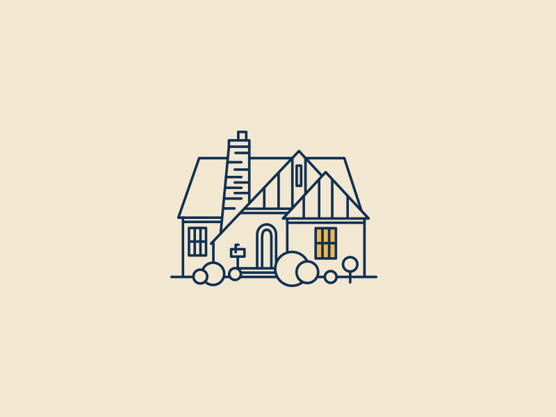 House Flat Illustration