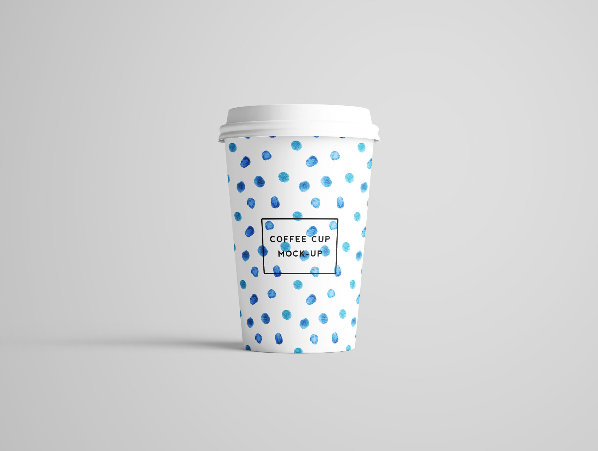 Coffee Cup Mockup - Front