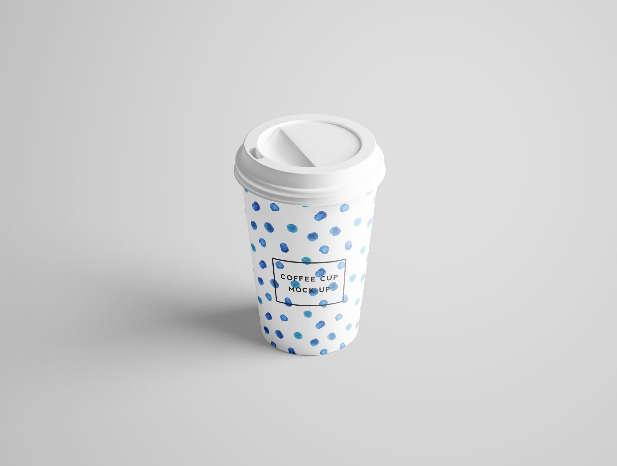 Coffee Cup Mockup - Perspective