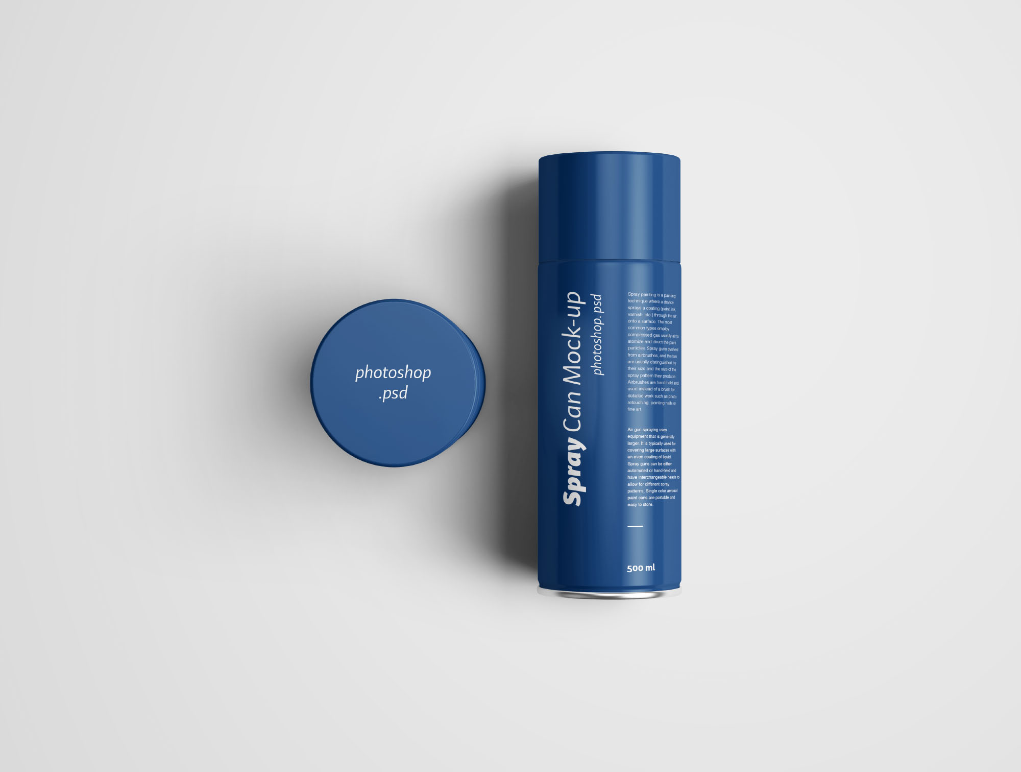 spray can mockup photoshop psd