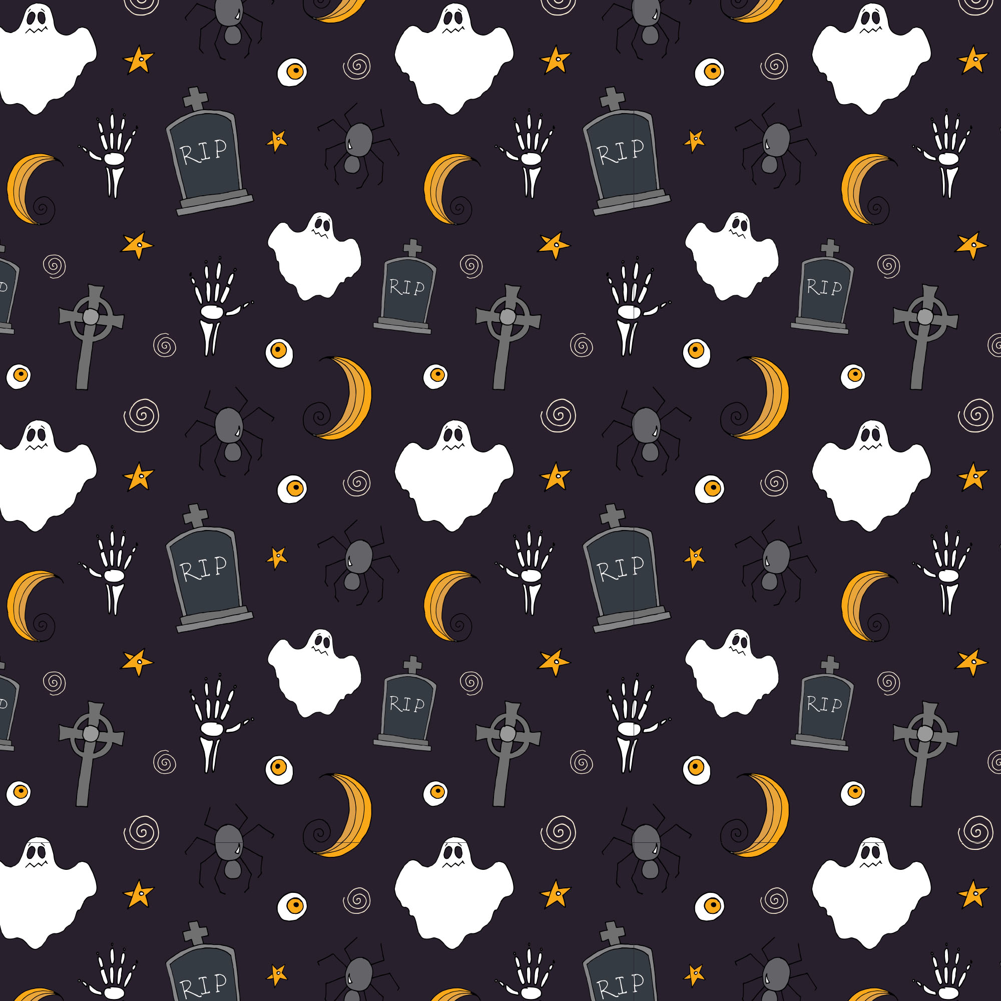 Halloween Vector Elements Amp Patterns Part Ii