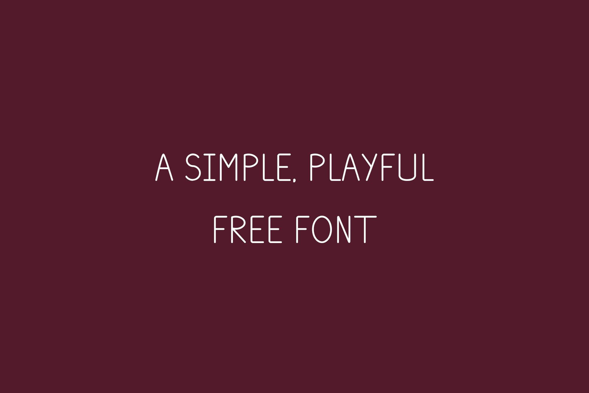 Plum Typeface Sample