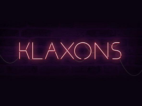 Klaxons Font